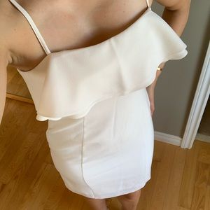 Karl Lagerfeld white cocktail dress  - Size 6